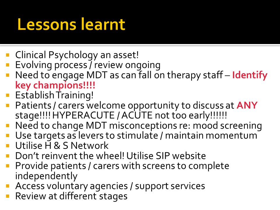  Clinical Psychology an asset.
