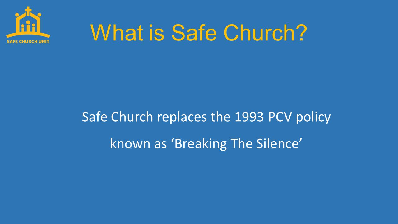 What is Safe Church.