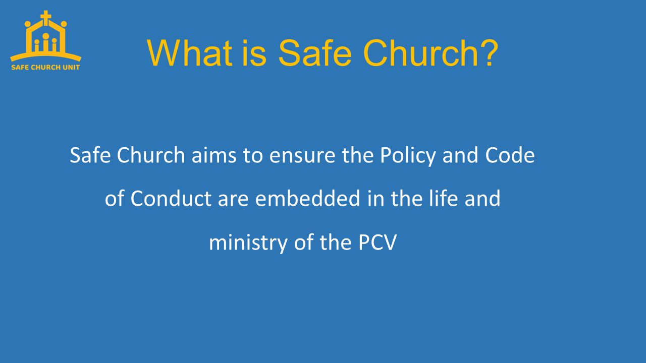 What is Safe Church.It does this by providing...
