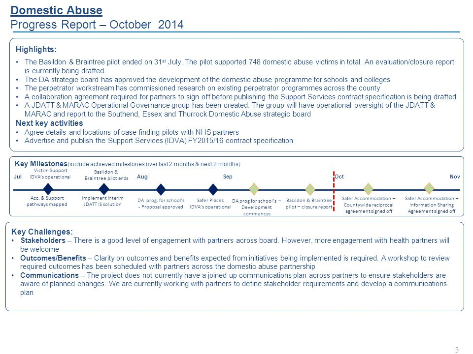 Reducing Reoffending Progress Report – October 2014 4 Key Challenges: Benefits - The benefits profiled in the current business case is based on the MOJ model.