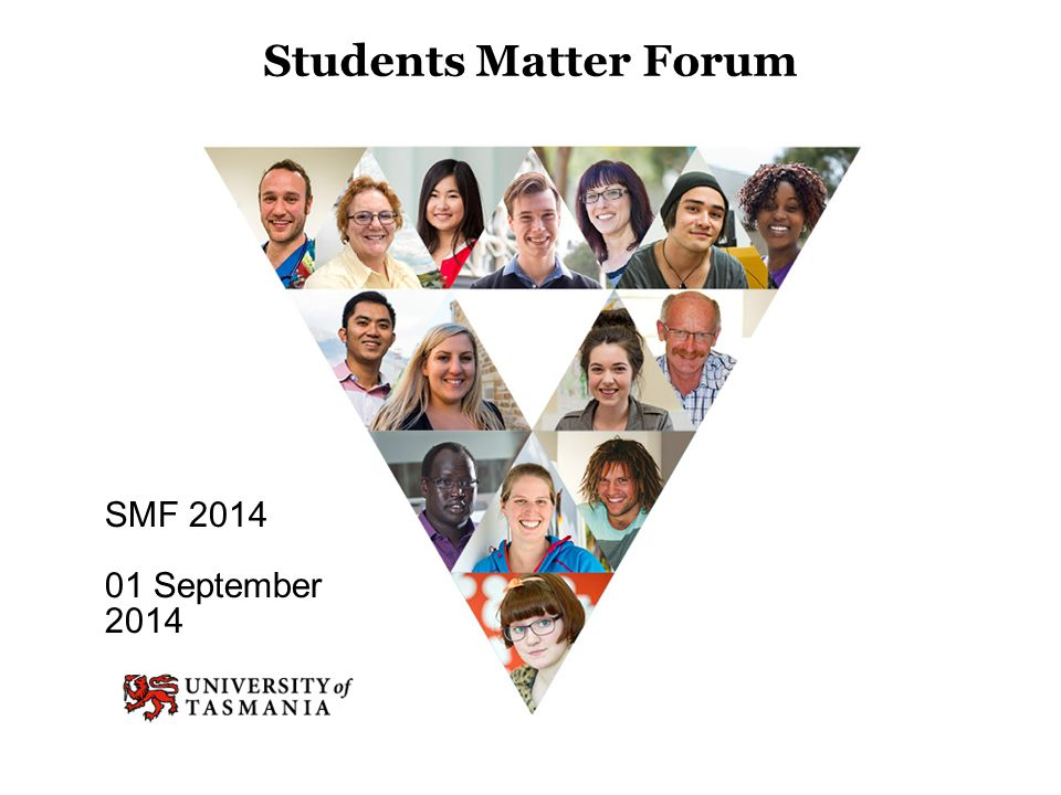 Students Matter Forum SMF 2014 01 September 2014