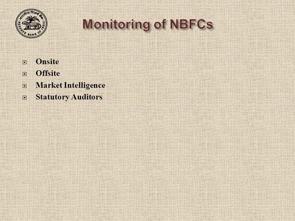  Onsite  Offsite  Market Intelligence  Statutory Auditors