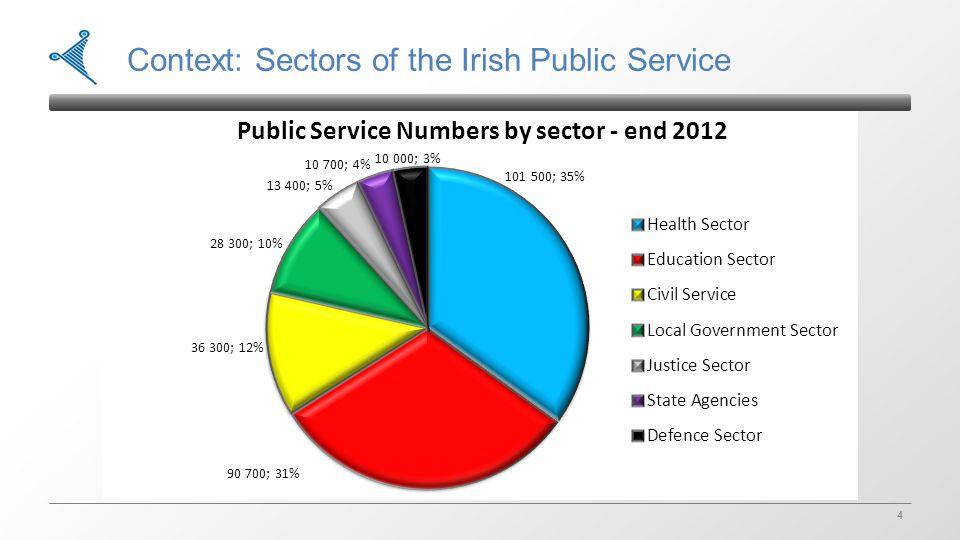 4 4 Context: Sectors of the Irish Public Service