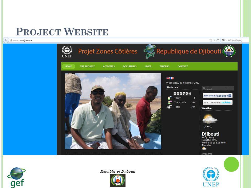 Republic of Djibouti P ROJECT W EBSITE