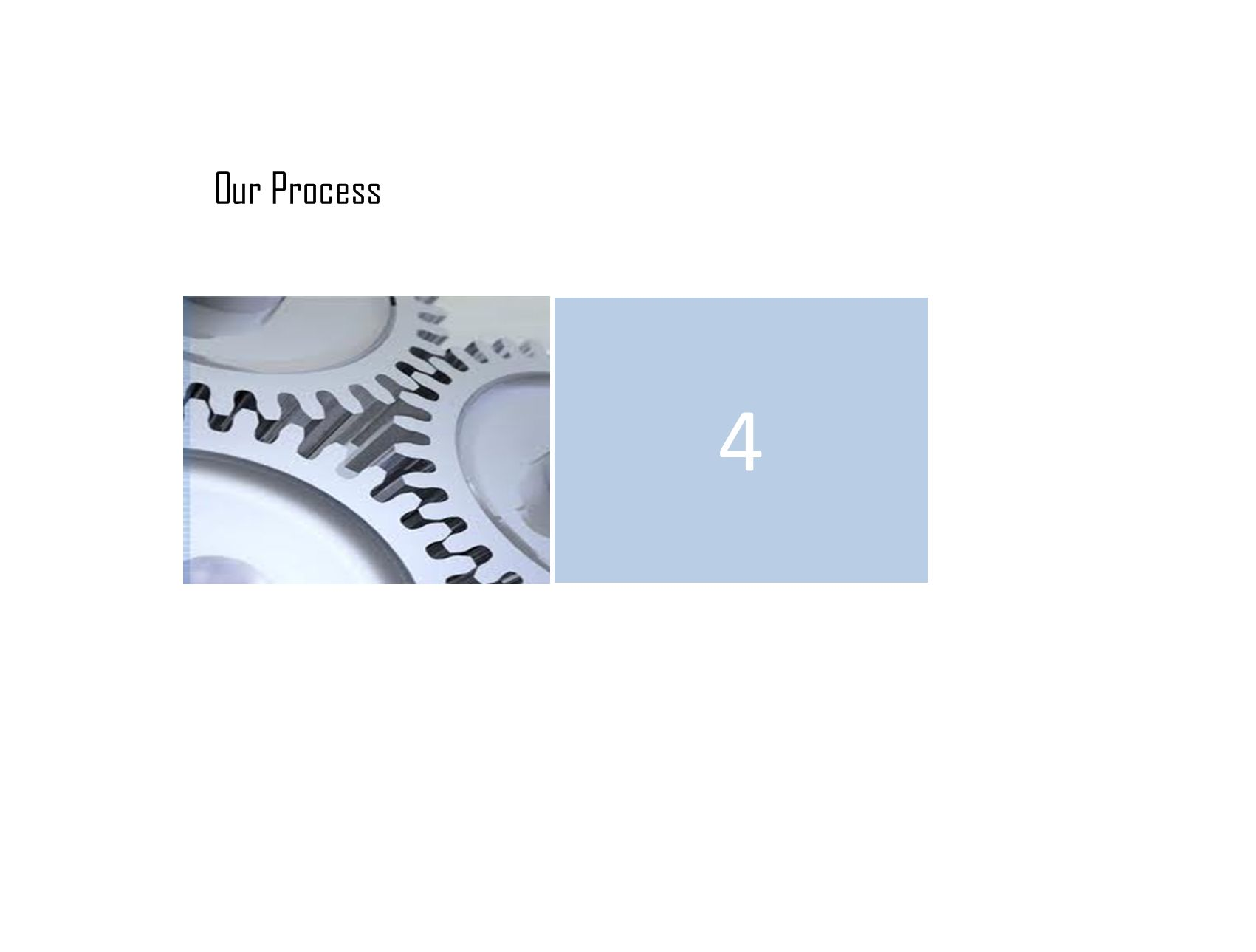 Our Process 4