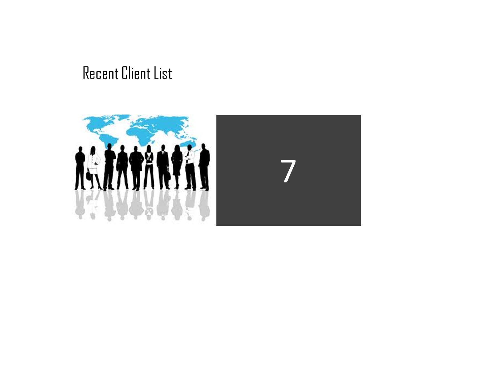 Recent Client List 7