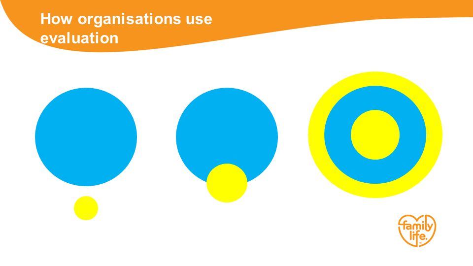 How organisations use evaluation