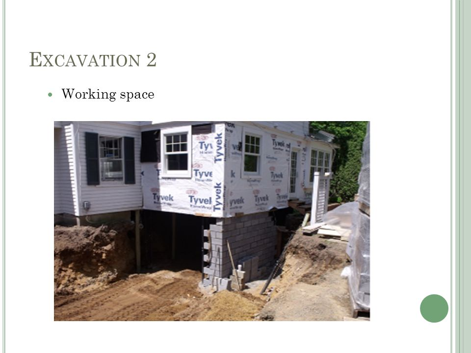 E XCAVATION 2 Working space allowance Excavation as for trenches$7.28/m3 Assume 75% filling and 25% disposal Digger + roller (75% x 0.08hr/m3) = 0.06 hr/m3 0.06 hr/m3 x $31.00 = $1.86