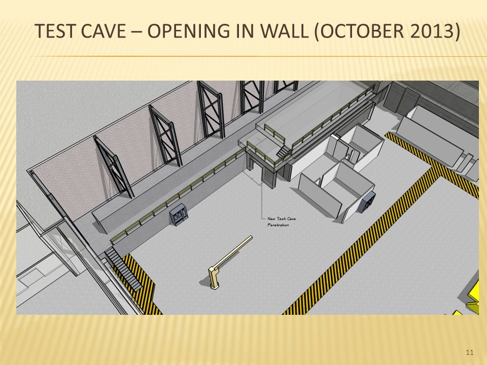 12 TEST CAVE – CLOSED WALL (NEW)
