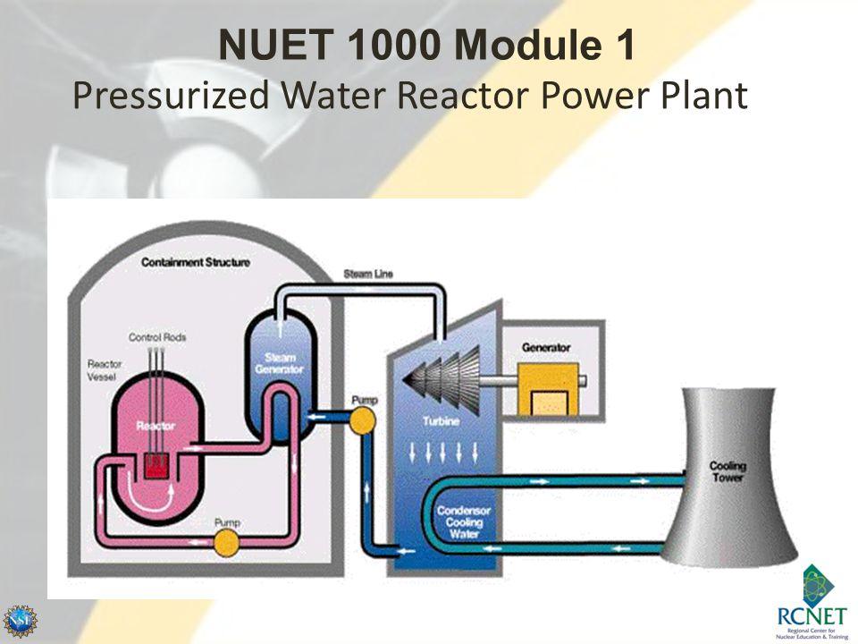 Pressurized Water Reactor Power Plant NUET 1000 Module 1