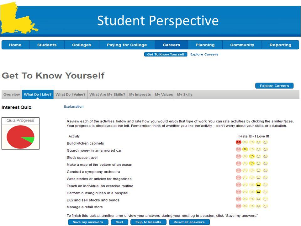 Student Perspective SLIDE 5