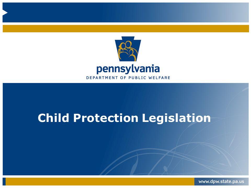 Child Protection Legislation