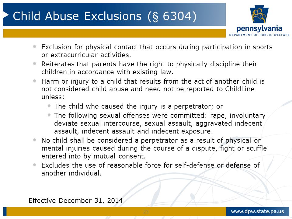 Exclusion for physical contact that occurs during participation in sports or extracurricular activities.