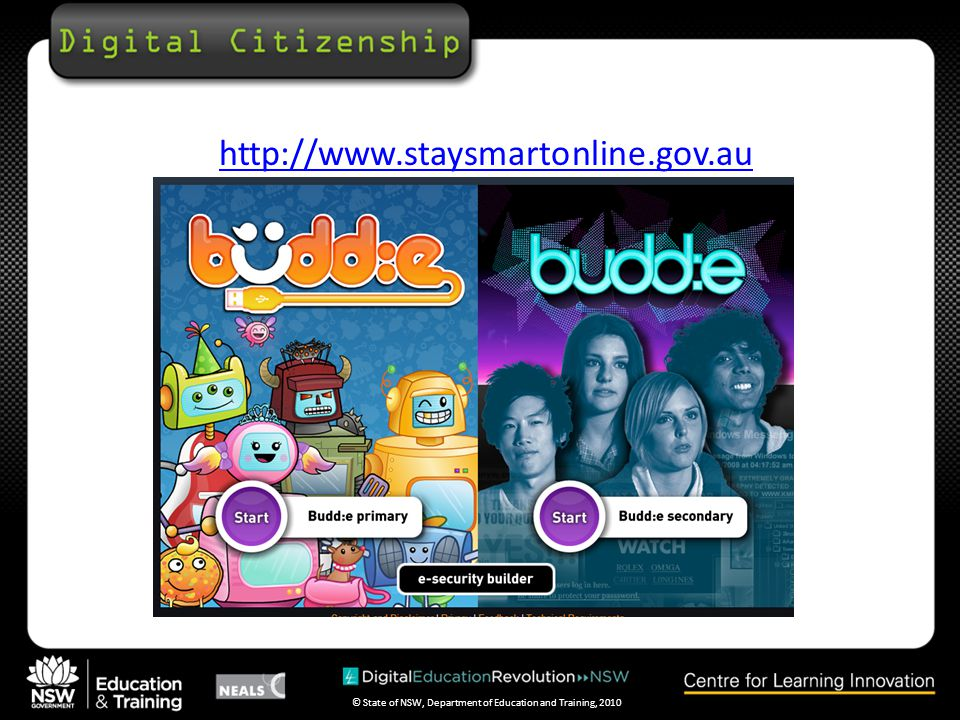 © State of NSW, Department of Education and Training, 2010 http://www.thinkuknow.org.au/site/kids.asp