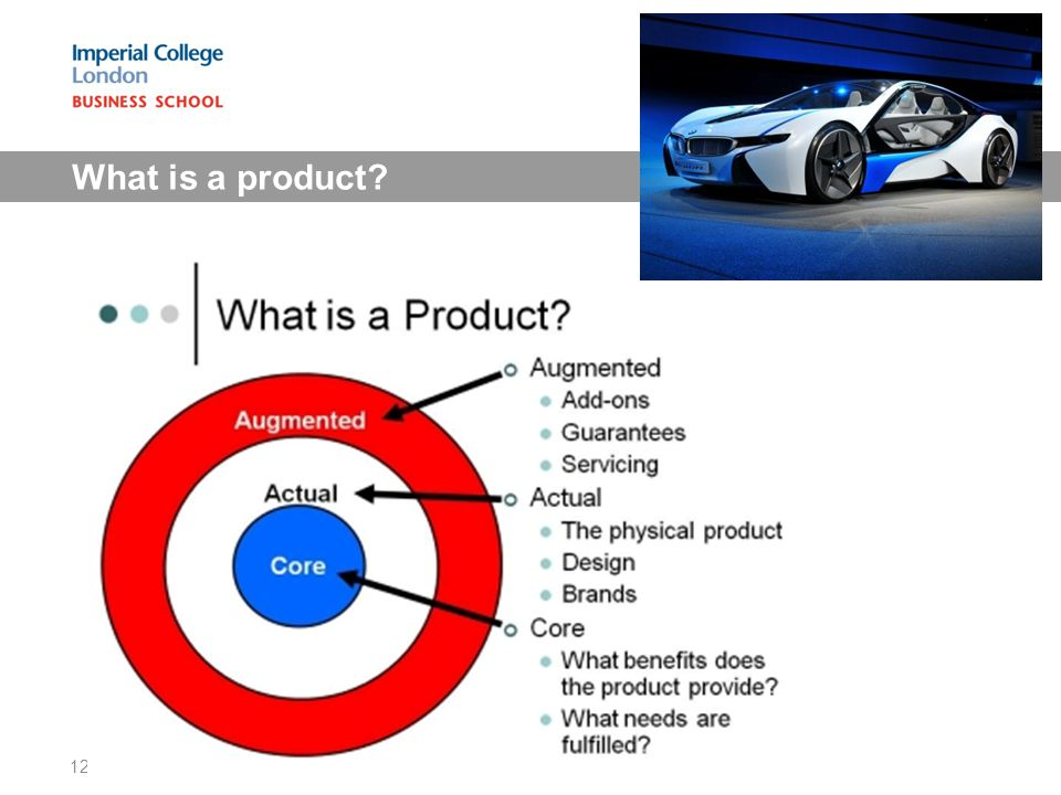 What is a product 12