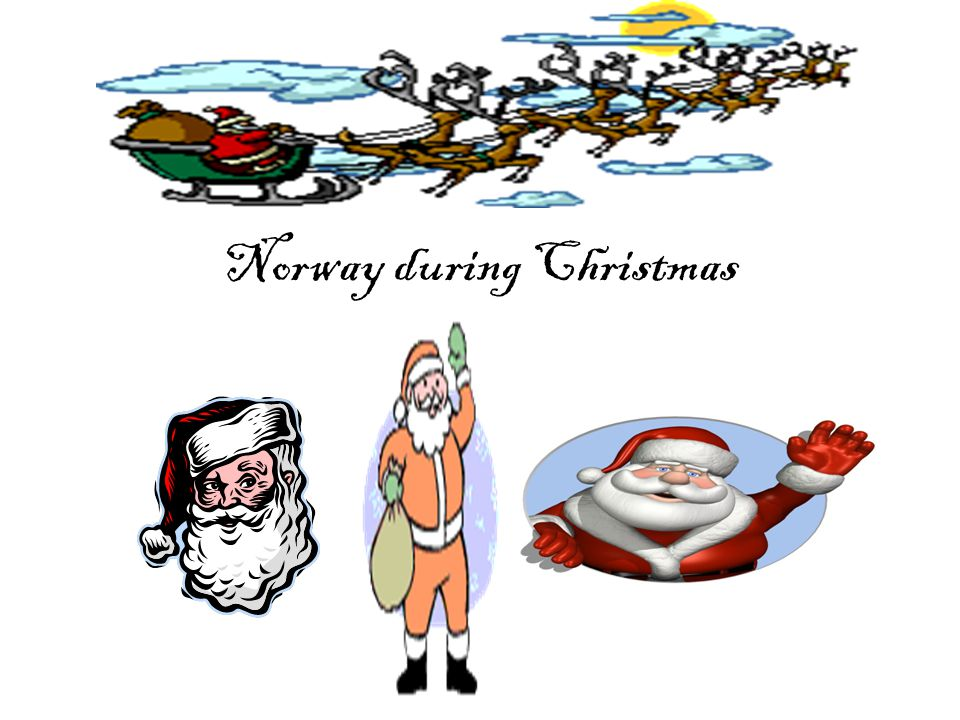 Norway during Christmas