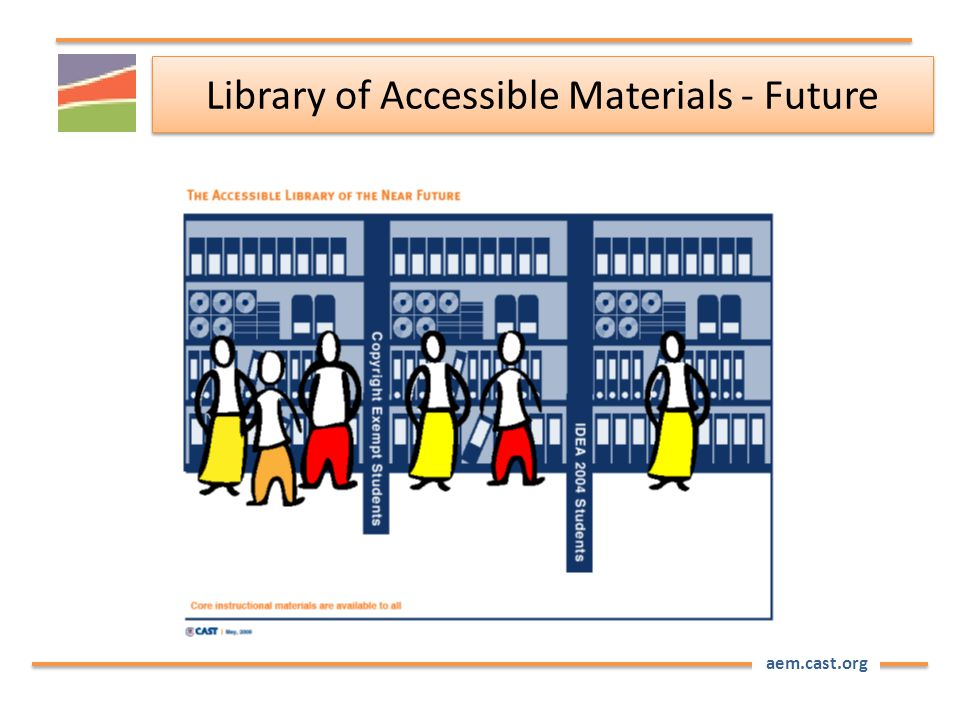 aem.cast.org Library of Accessible Materials - Future