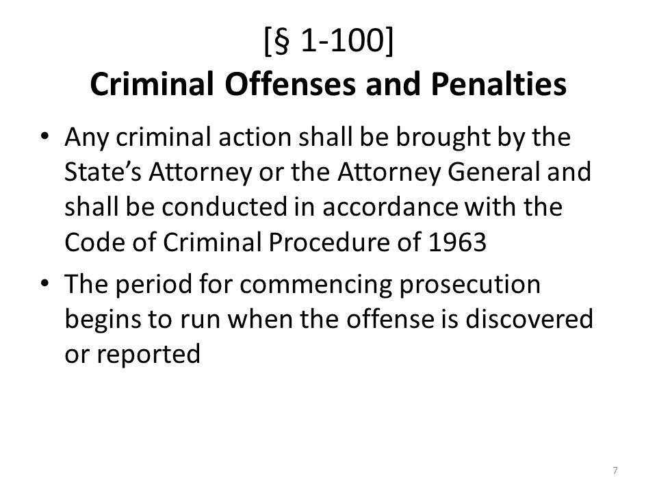 [§ 1-101] Civil Penalties and Injunctions Any person who violates the Act or a rule, order or permit shall be liable for a civil penalty not to exceed $50,000 per violation and an additional $10,000 per day of violation Any person who does the following is subject to a civil penalty not to exceed $100,000 per violation and an additional $20,000 per day of violation: – Inject or discharge hydraulic fracturing fluid, produced water, BTEX, diesel, or petroleum distillates into fresh water – Perform any HVHHF operations by injecting diesel – Drill, deepen or convert a horizontal well where HVHHF operations are planned or occurring or convert a vertical well into a horizontal well where HVHHF operations are planned in the State, unless the person has been issued a permit 8