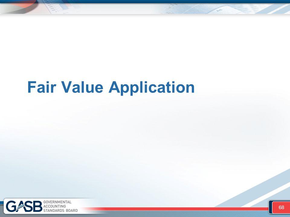 Fair Value Application 68
