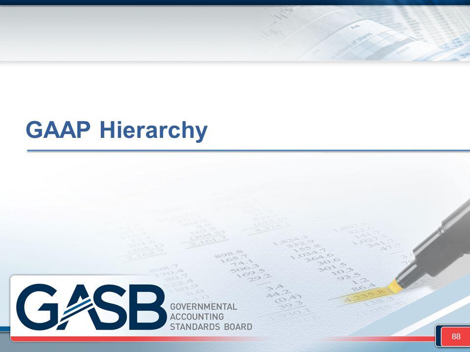 GAAP Hierarchy 88