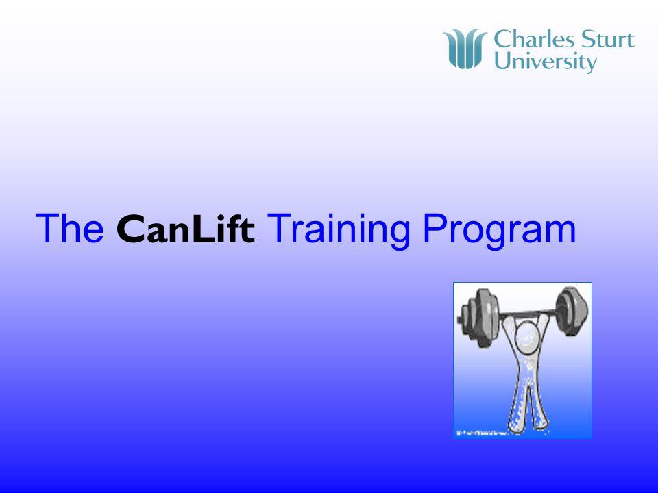 The CanLift Training Program