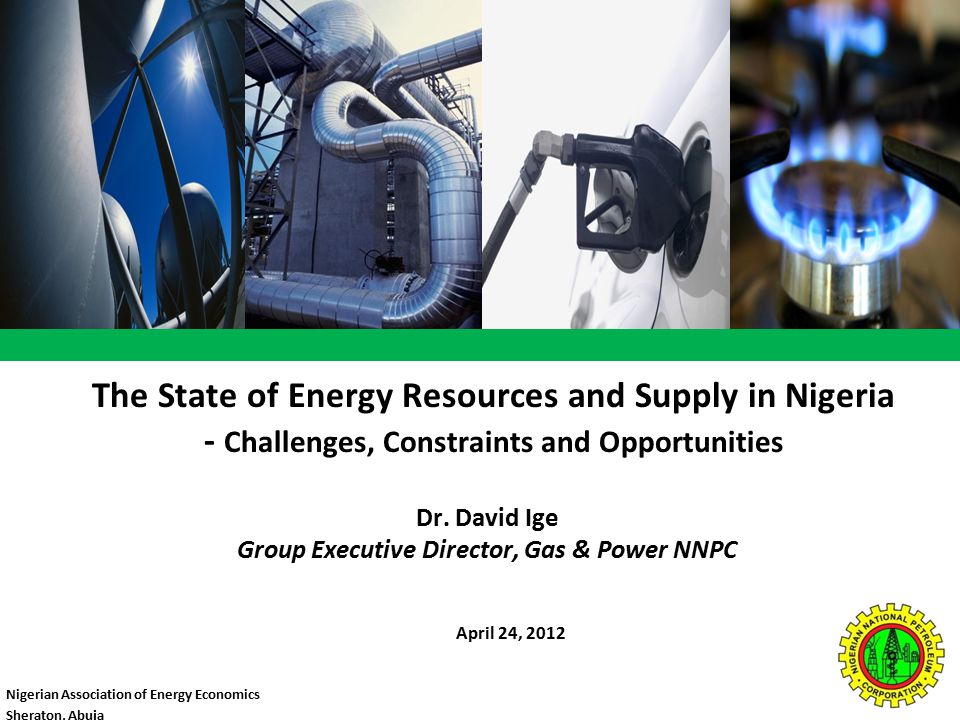 Outline  Overview of the Nigerian Oil & Gas Industry  Supply Perspective & Challenges  Investment Opportunities  Conclusion 2