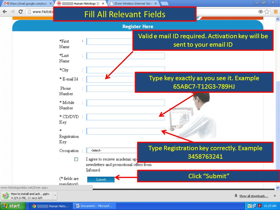 Click Here Fill All Relevant Fields Valid e mail ID required.