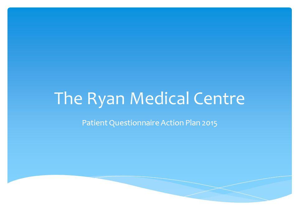 The Ryan Medical Centre Patient Questionnaire Action Plan 2015