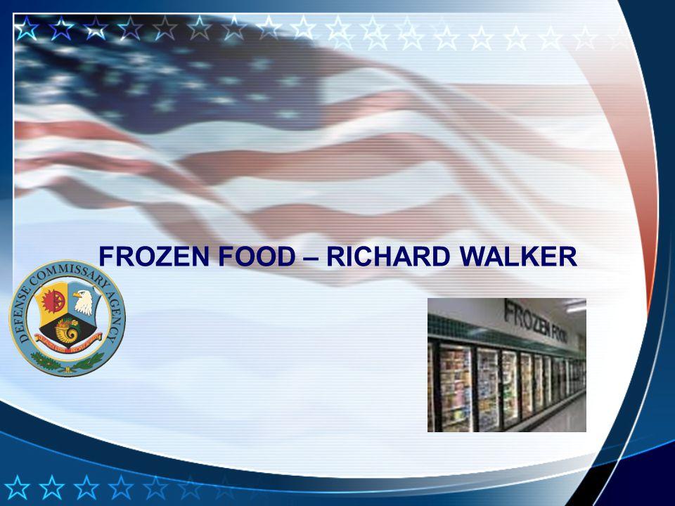 FROZEN FOOD – RICHARD WALKER