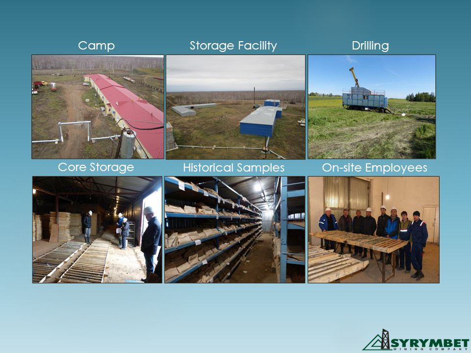 CampStorage FacilityDrilling Core Storage Historical SamplesOn-site Employees