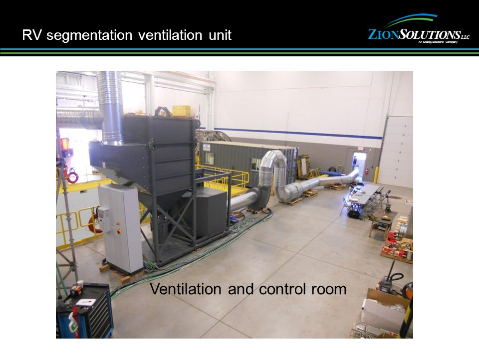 Z NOI S ITULOONS An EnergySoluitons Company LLC 10 RV segmentation ventilation unit Ventilation and control room