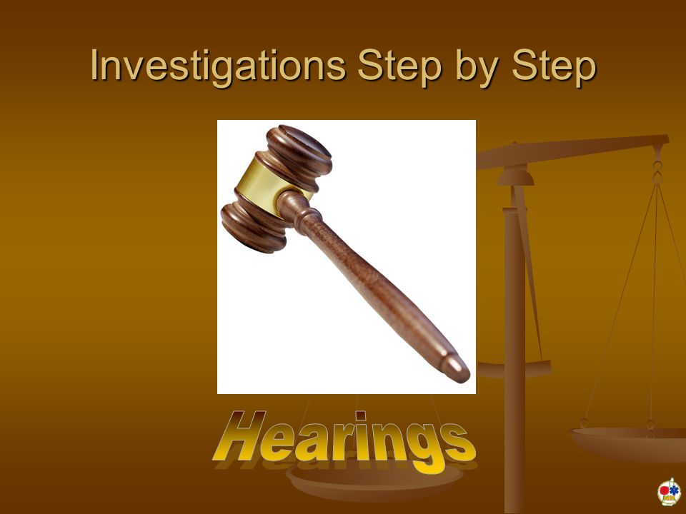 Investigations Step by Step