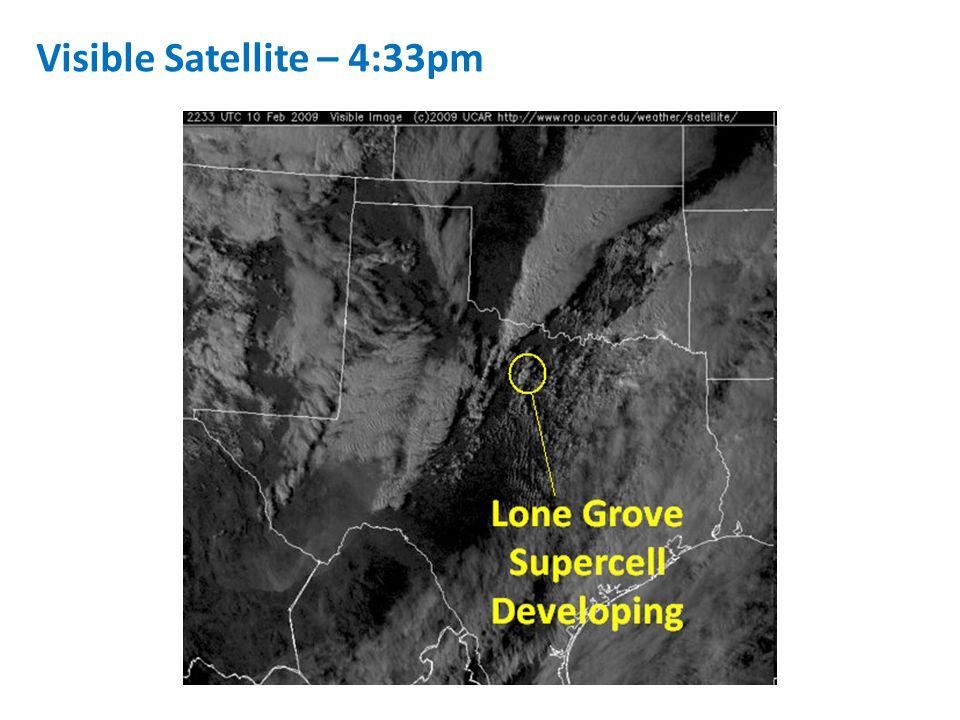 Visible Satellite – 4:33pm