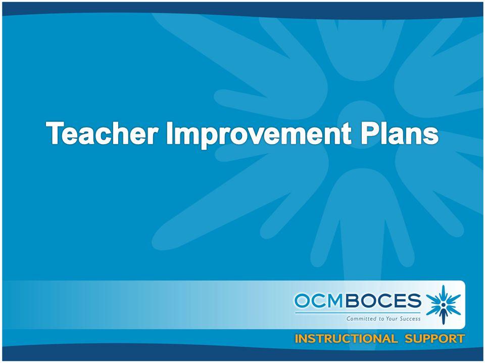 §30-2.10(a) and (b) Teacher or Principal Improvement Plans