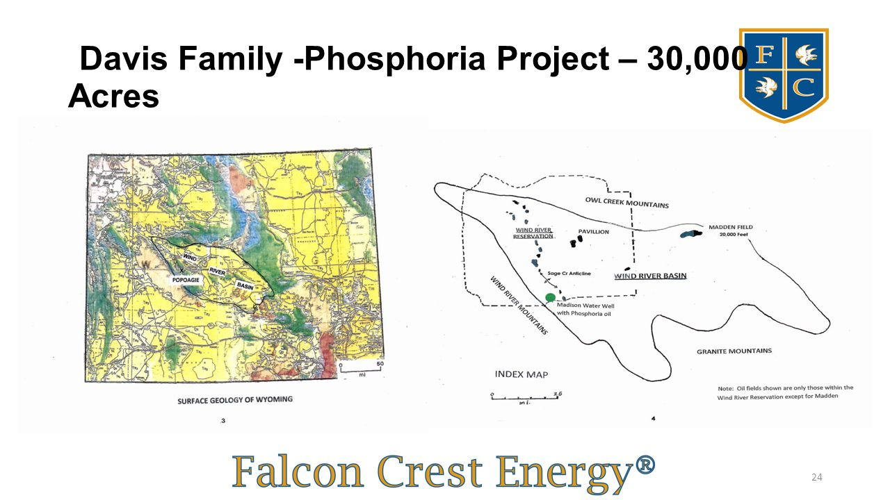 Davis Family -Phosphoria Project – 30,000 Acres 24