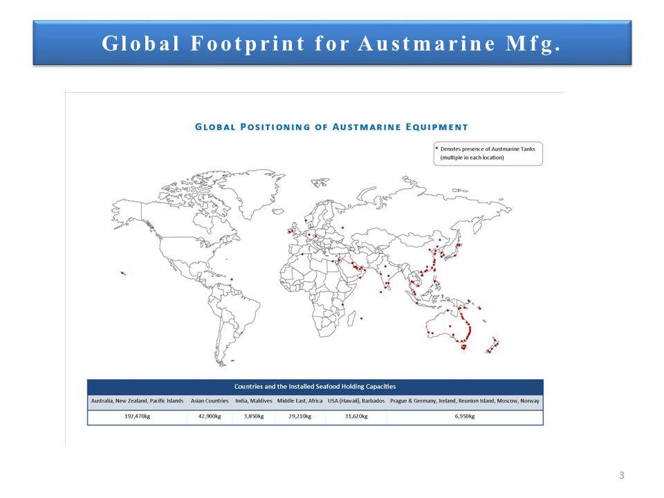 3 Global Footprint for Austmarine Mfg.