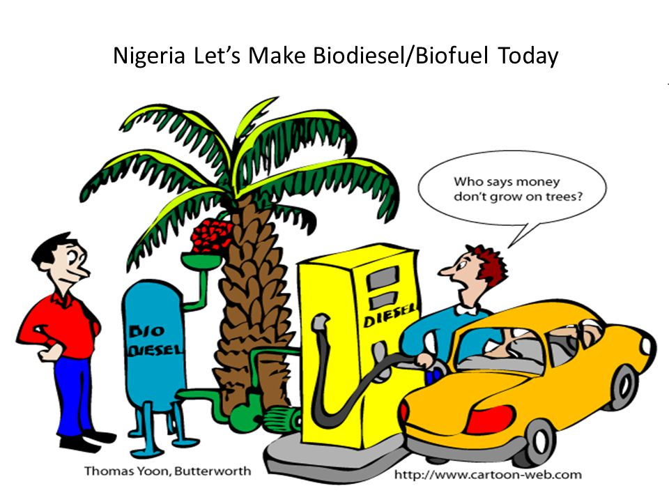 Nigeria Let's Make Biodiesel/Biofuel Today