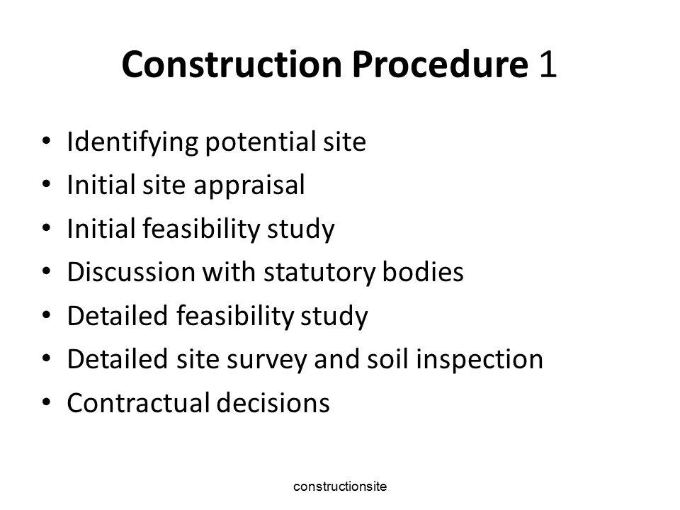 constructionsite 2 Detailed financial appraisal Scheme design Approval of scheme design Instruct consultants detailed design Approval of finalised scheme Planning negotiations Design team meeting