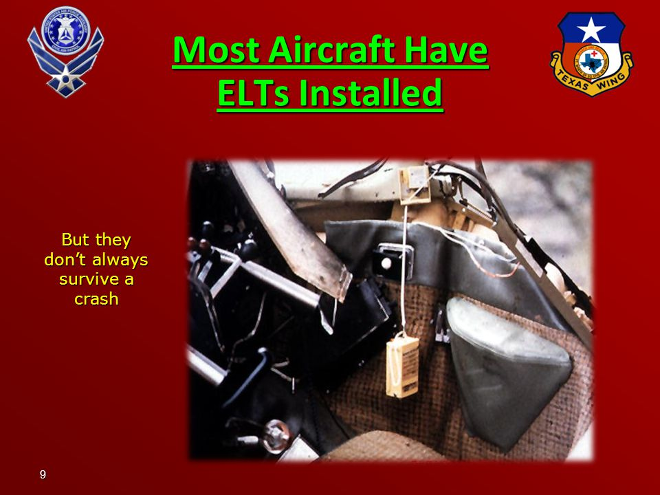 9 Most Aircraft Have ELTs Installed But they don't always survive a crash