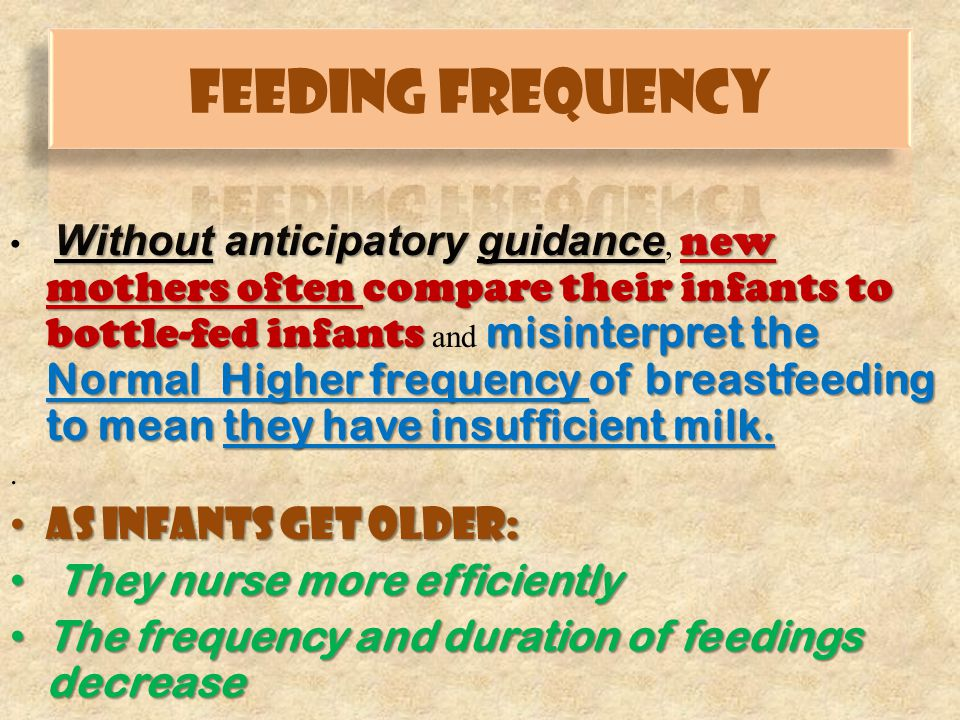MILK SUPPLY FOR BREASTFED NEONATES (THE FIRST WEEK) (THE FIRST WEEK) First 24 hoursSome milk may be expressed Day2 Milk should come-in (lactogenesis stage 2) Day3 Milk should come-in (lactogenesis stage 2) Day4 Milk should come-in (lactogenesis stage 2) Day5 Milk should be present, breasts may be firm or leaking > Day6 Breasts should feel softer after nursing Adapted with permission from Clin Perinatol.1999;281-306