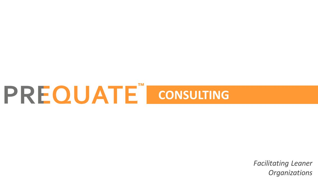 CONSULTING Facilitating Leaner Organizations ™