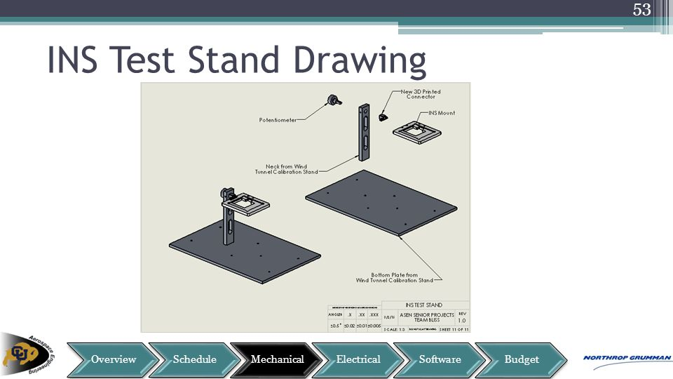 INS Test Stand Drawing 53