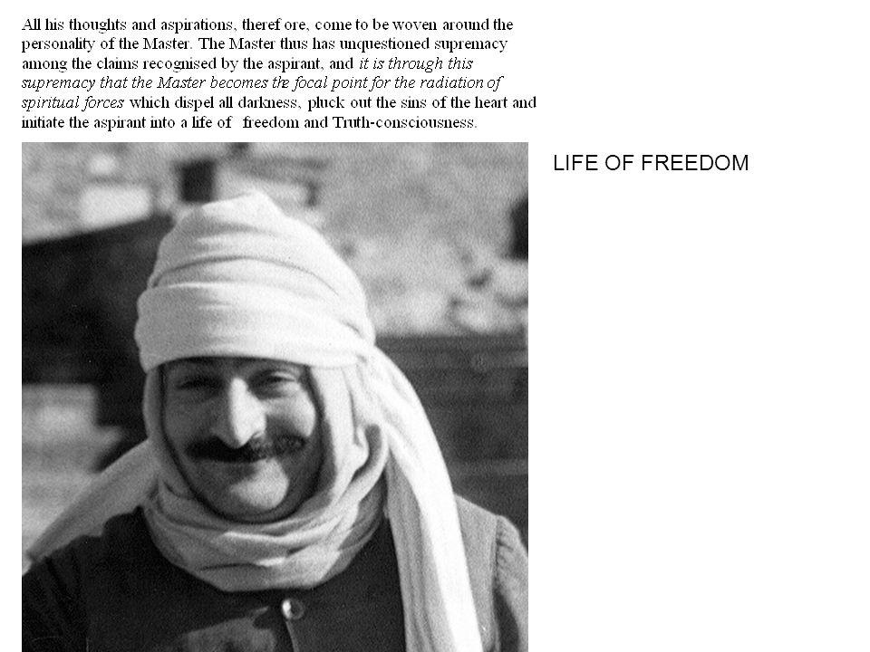 LIFE OF FREEDOM