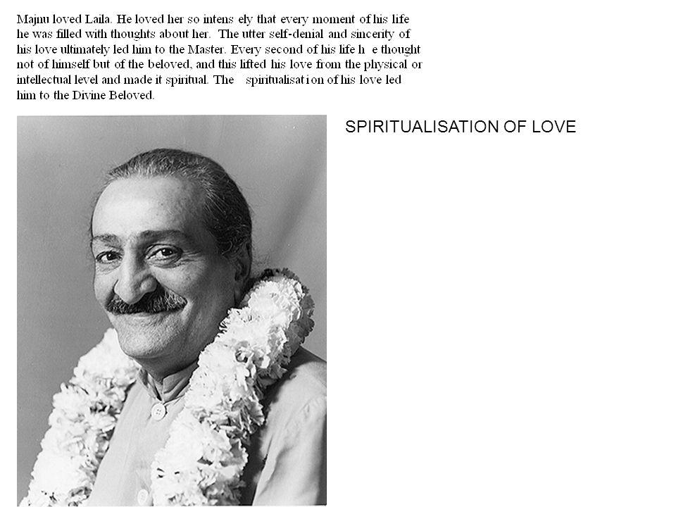 SPIRITUALISATION OF LOVE