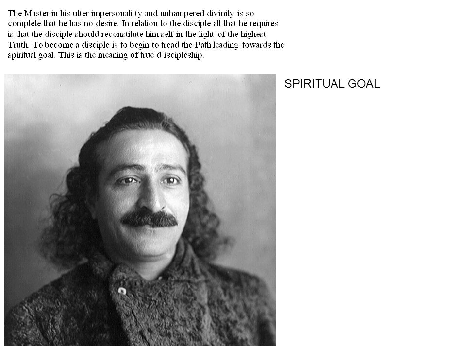 SPIRITUAL GOAL
