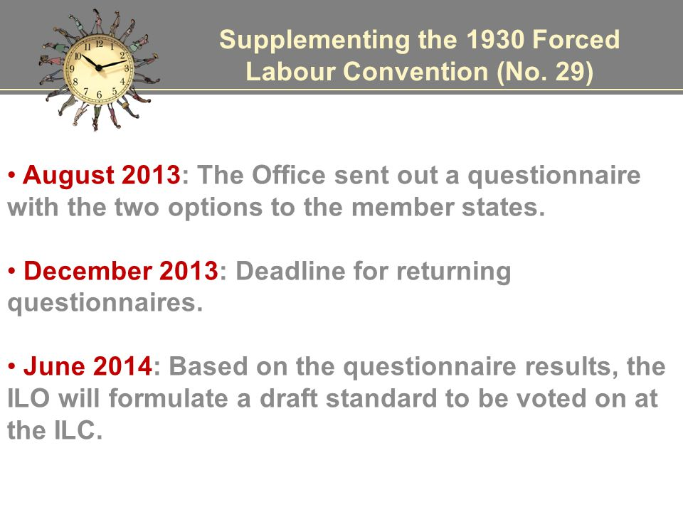 Supplementing the 1930 Forced Labour Convention (No.