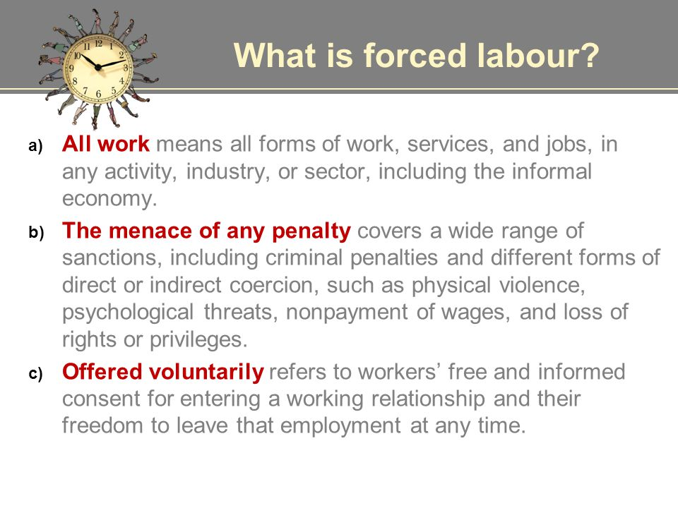 Abolition of Forced Labour Convention, 1957 (No.