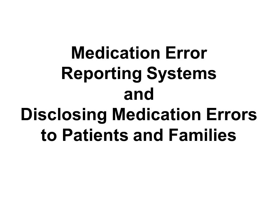 The Joint Commission Sentinel Event Reporting Program (continued) 1995–2005: the sentinel events reported to TJC included patient suicides, wrong-site surgery, operative or postoperative complications, and medication errors 1995–2004: most common root causes of medication- related sentinel events were communication failures, inadequate orientation or training of staff, inaccurate patient assessment, staffing issues, and unavailable information –Figure 19-3 in the textbook shows the breakdown of root causes of medication errors for 1995–2005 –Figure 19-4 graphs an example of one such sentinel event