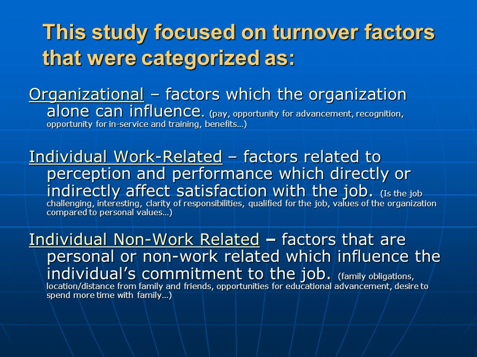 Who was included in this study.