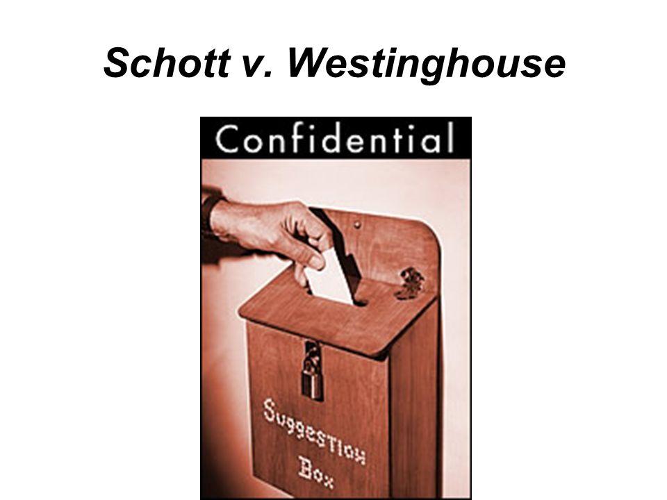 Schott v. Westinghouse